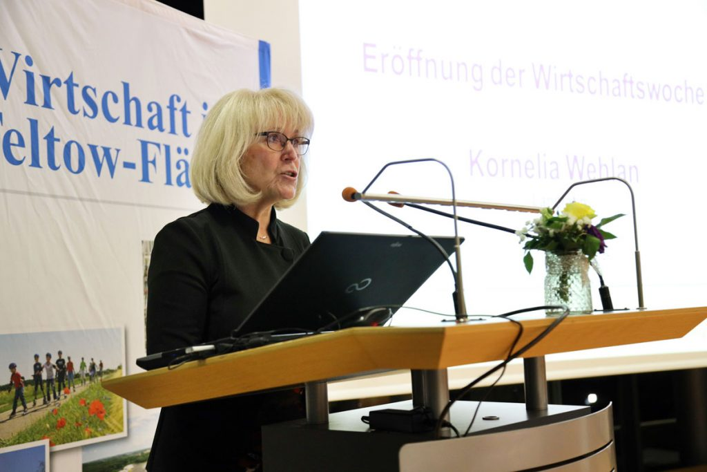 Landrätin Kornelia Wehlan eröffnet die Woche