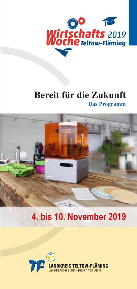 Flyer Wirtschaftswoche 2019