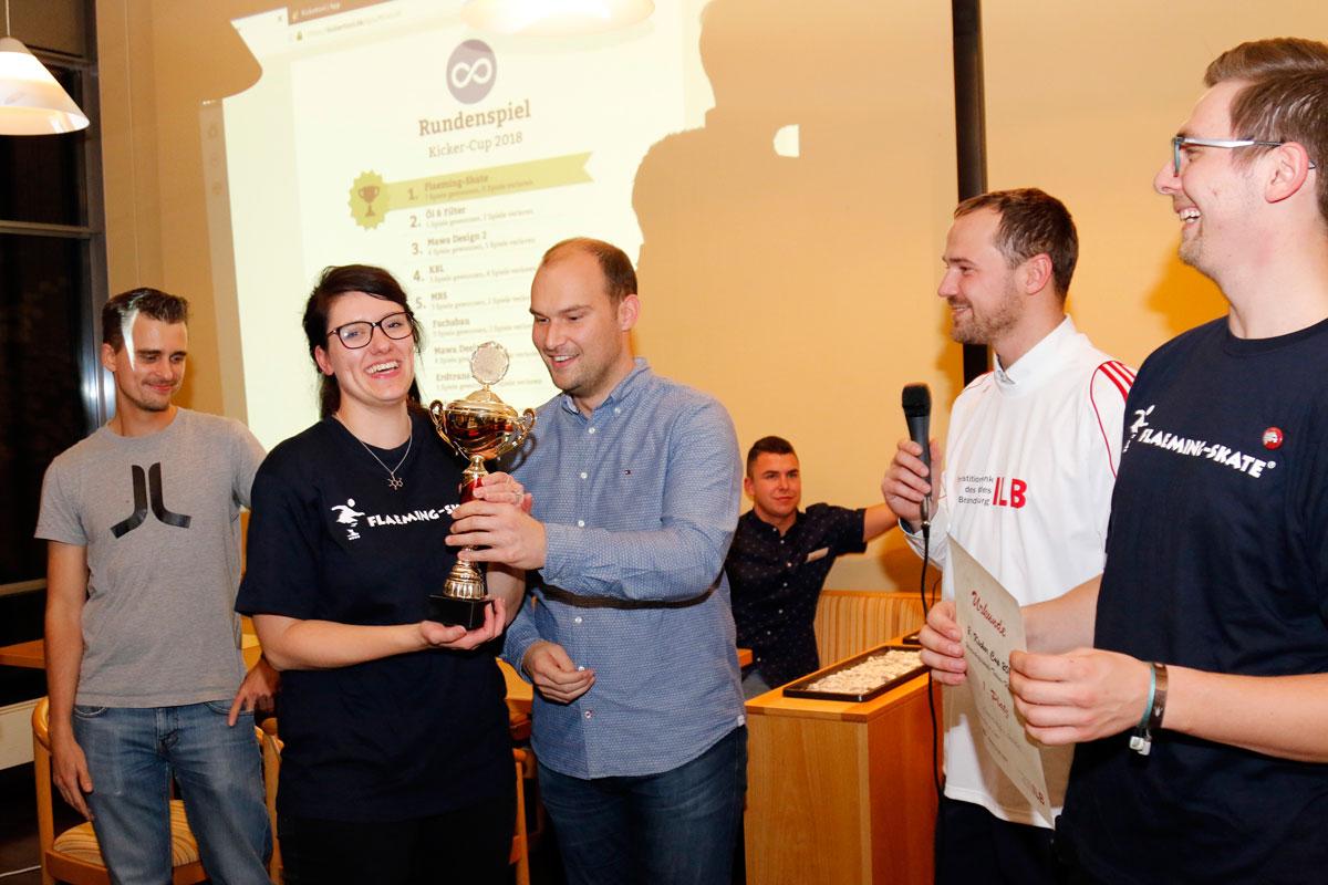 Pokalsieger: Team Flaeming-Skate