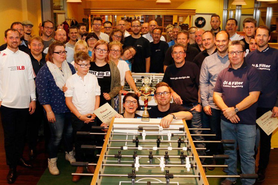 Gut besuchter 2. Kicker Cup Teltow-Fläming (Foto: Marlen Hundrieser)