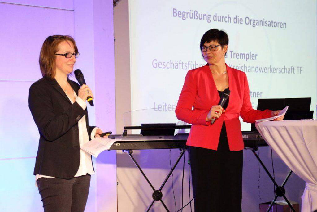 Vilma Trempler (rechts) und Katharina Fichtner