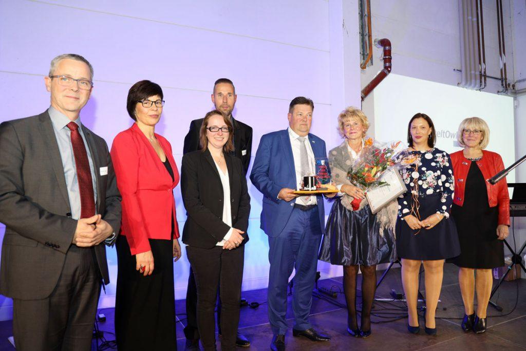 Preis der jungen Wirtschaft für die Auto-Center-Lange GmbH