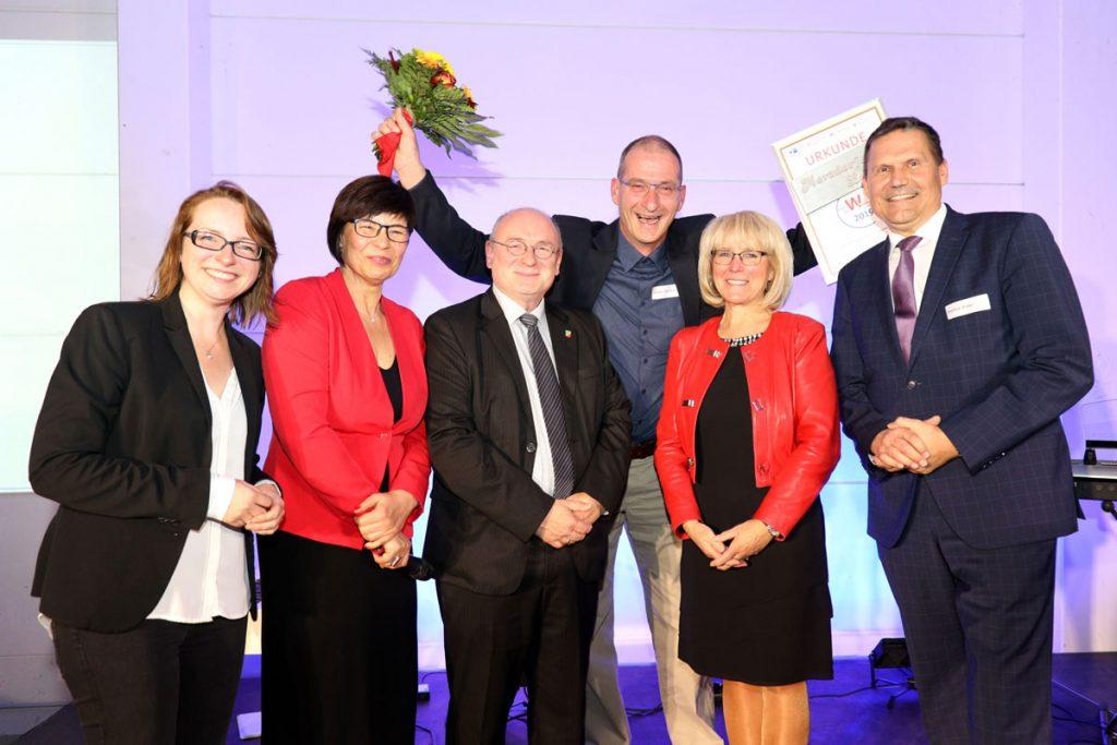 Sonderpreis Tradition und Zukunft für Stephan Sembritzki von der Merzdorfer Landbrotbäckerei