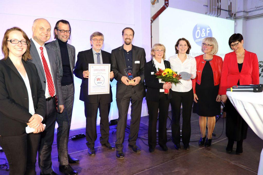 """Preisträger Kategorie """"Industrie und Gewerbe"""": Öl & Filter Vertriebsgesellschaft mbH"""