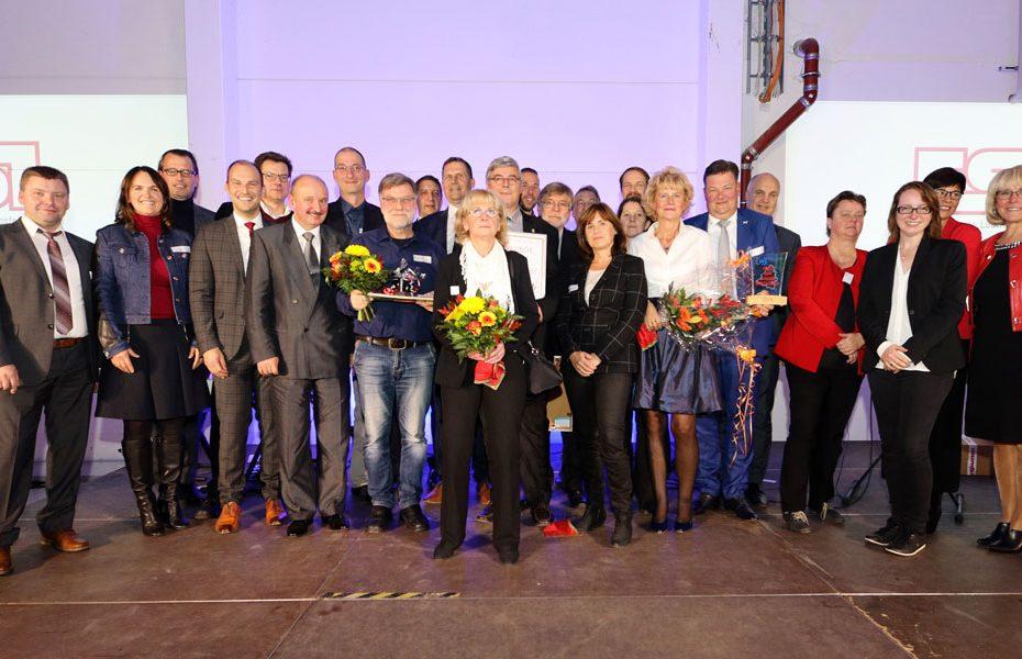 Preisträger 2019 mit Jury