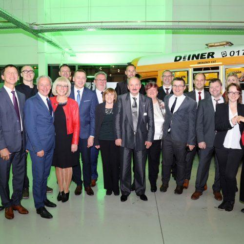 Gruppenbild mit der Delegation aus dem polnischen Partner-Landkreis Gniezno