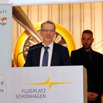 Laudatio von Hendrik Fischer, Staatssekretär im Brandenburger Ministerium für Wirtschaft und Energie