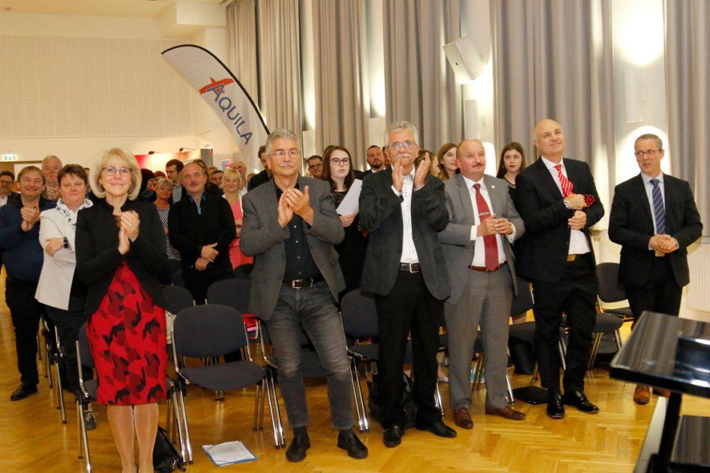 Standing Ovations für Randolf Kluge