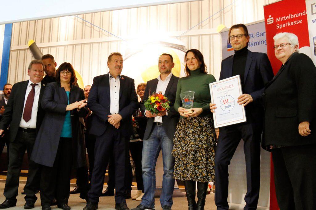 """Preis der Wirtschaft """"Handwerk"""" für die Kramer Elektro-Anlagen GmbH"""