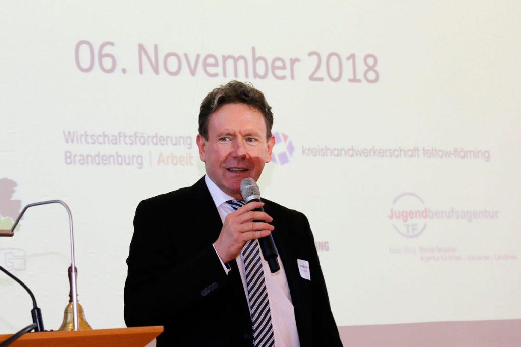 IHK-Geschäftsführer Bildung Wolfgang Spieß